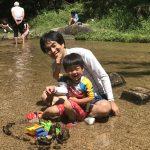 岩屋堂公園の水遊びはオススメです。