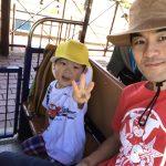幼児と遊ぶ。愛知県碧南明石公園