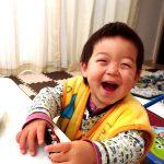 けいちゃん4歳の誕生日 おめでとう